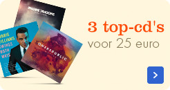 3 top-cd's voor 25 euro