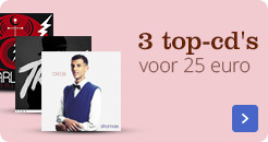 3 top cd's voor 25,-