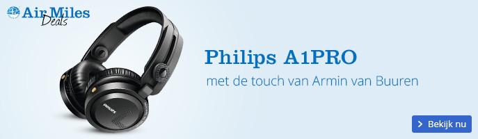 Philips A1PRO | met de touch van Armin van Buuren
