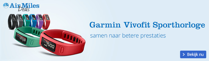 Garmin Vivofit Sporthorloge | samen naar betere prestaties