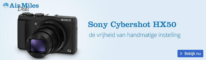 Sony Cybershot HX50 | de vrijheid van handmatige instelling
