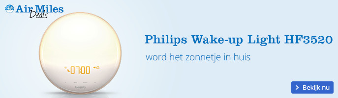 Philips Wake-up Light HF3520 | word het zonnetje in huis