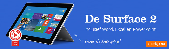 De Surface 2 | inclusief Word, Excel en PowerPoint