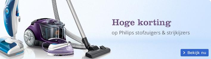 Hoge korting | op Philips stofzuigers & strijkijzers