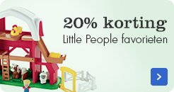 20% korting op Little People