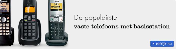 De populairste vaste telefoons met basisstation