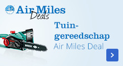 Tuingereedschap, Air Miles Deal