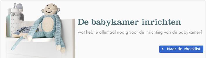 De babykamer inrichten - Wat heb je allemaal nodig voor de inrichting van de babykamer?