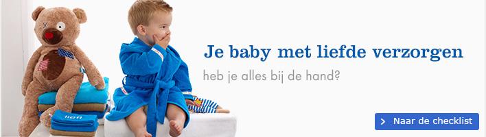 Je baby verzorgen - Wat heb je allemaal nodig voor het verzorgen van je baby?