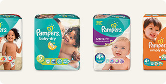 Pampers Maattabel