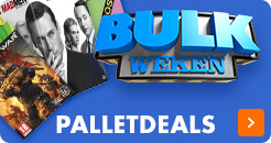 Palletdeals Muziek, DVD, Games