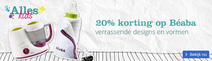 20% korting op Béaba, verrassende designs en ergonomische vormen