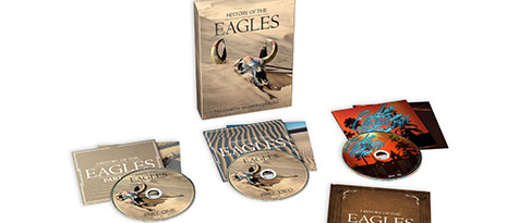 History Of The Eagles (3Dvd+Boek)