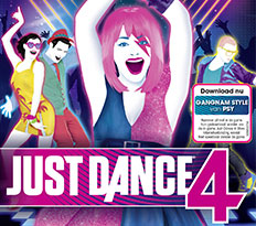 Just Dance 4 voor de Nintendo Wii