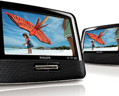 Philips PD7022 portable dvd-speler