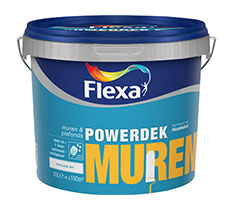 Flexa Powerdek Muren & Plafonds 10 L
