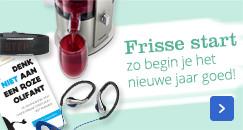 Frisse start, zo begin je het nieuwe jaar goed!
