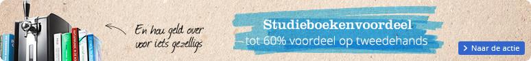 Tot 60% korting op tweedehands studieboeken