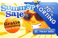 Summersale, Tot 75% korting op al je vakantiebenodigdheden!