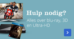 Hulp nodig? Alles over blu-ray, 3D en Ultra-HD