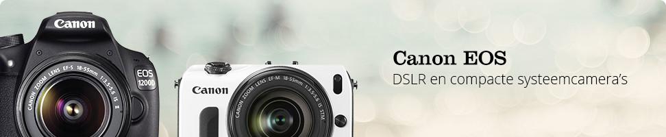 Canon DSLR en compacte systeemcamera's