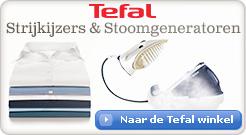 Bekijk alle strijkijzers en stoomgeneratoren van Tefal in de shop
