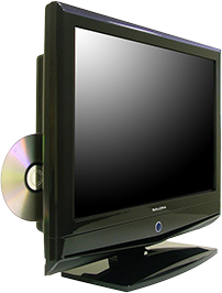 Ingebouwde dvd-speler