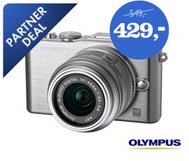 Olympus E-PL3 + 14-42mm II