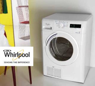 whirpool wassen drogen