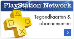 PlayStation Network Tegoedkaarten & Abonnementen