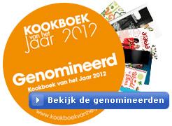 bekijk hier de genomineerden voor kookboek van het jaar 2012