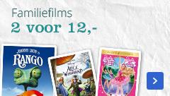 Familiefilms 2 voor 12 euro
