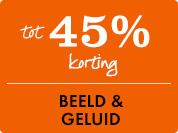 40% korting op Beeld & Geluid