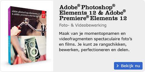 Adobe Photoshop Elements 12 en Adobe Premiere Elements 12