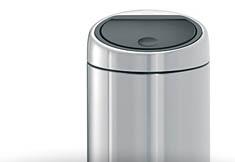 Brabantia Touch Bin - Afvalverzamelaar 30 l - Matt Steel