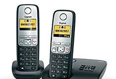 Gigaset A400A - Duo DECT telefoon met antwoordapparaat