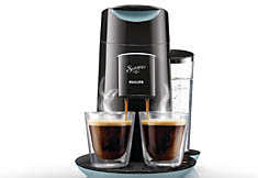 Philips Koffiepadapparaat HD7870/60 - Senseo Twist Zwart