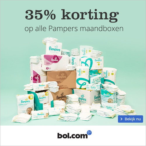 Pampers 35% maandbox