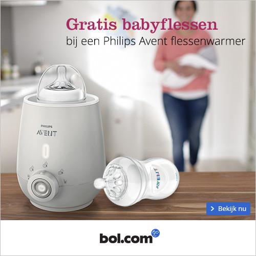 Gratis babyflessen bij een Philips Avent flessenwarmer